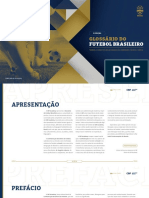 GLOSSARIO FUTEBOL BRASILEIRO CBF