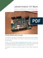 Tutoriel Bluetooth Arduino 101 Blynk