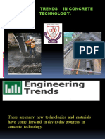 New Trends in Concrete Technology