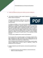 TAREA I                TERMOTRANSFERENCIA DE LOS PROCESOS METALÚRGICOS
