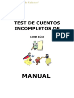Test de Cuentos Incompletos de Louisa Duus