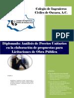 Manual Diplomado en Licitaciones de Obra Pública