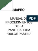 mapro dulce pastel