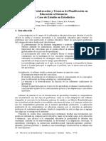 TECNICAS DE PLANIFICACION