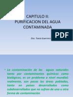 CAPITULO II PURIFICACION DEL AGUA CONTAMINADA 2