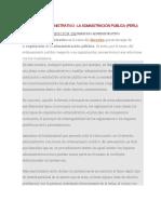Derecho Administrativo - Procedimiento Administrativo