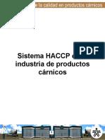 HACCP EN LA INDUSTRIA DE DERIVADOS CARNICOS