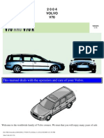 VOLVO V70 2004 User Manual