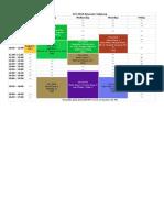 4. Jadwal Perkuliahan Ganjil TA 2018-2019 FPI