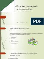 5.Clasificación y manejo de residuos solidos