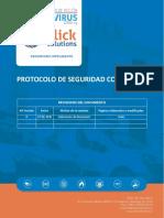 Protocolo Covid-19 Clicksolutions