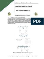 M54 Unit 8 Global Analysis II