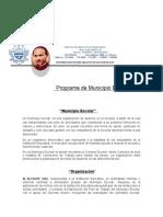PROGRAMA DE MUNICIPIO ESCOLAR