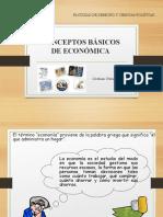 CONCEPTOS BÁSICOS DE ECONOMÍA