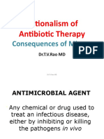 Rationalism of Antibiotic Therapy