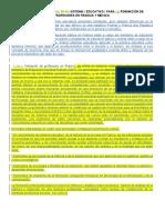 DEFERENCIA EN EL SISTEMA EDUCATIVO PARA FORMACIOÏN DE PROFESORES EN FRANCIA Y MEÏXICO