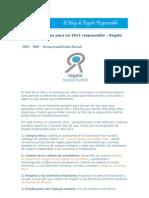 Propósitos para un 2011 responsable - Regalo Responsable