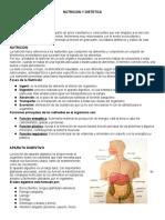 NUTRICION Y DIETETICA