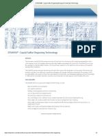 D'GAASS® - Liquid Sulfur Degassing Energy & Chemicals Technology