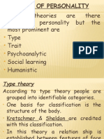 theories on personality.pptx