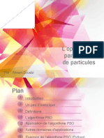 L'optimisation par essaims de particules