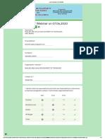 Quiz for Webinar on 07.06.2020