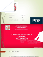 candidiasis ofidismo