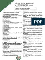4th Perodic Exam - Trends