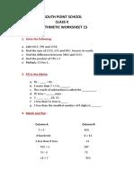 Class2 Arithmetic Worksheet15