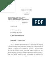 Sentència Jordi Arasa