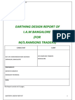 Earthing Design Report-Ramsons Traders