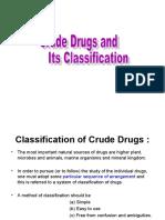 Crude drugs