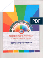 NEA Conv 15 Paper_Abstract_Dumre Bhansar NewTown
