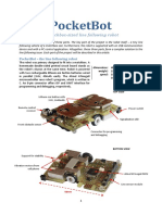 InfoMatrix Abstract PocketBot Project - Ondrej Stanek CZ