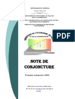 NOTE DE CONJONCTURE 2020 SENEGAL DPEE