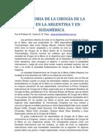 LA HISTORIA DE LA CIRUGÍA DE LA MANO EN LA ARGENTINA Y SUDAMÉRICA