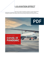 COVID -19 AVIATION ECONOMY EFFECT