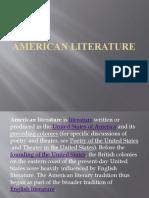 American Literature by grade 11 ICT