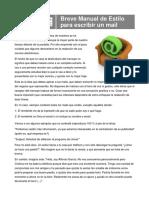Breve Manual de Estilo para escribir un mail - Polidric_tcm1407-990731