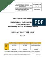 IT-PO-SGI-011-06 Rev 14 - Soldadura Termofusión