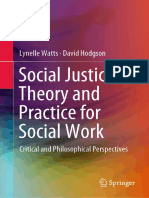 Social Justice Theory and Practice for Social Work - Lynelle Watts, David Hodgson, 1st ed. 2019 - 978-981-13-3621-8.epub