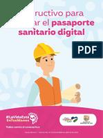 Cartilla Pasaporte Sanitario Digital (Independientes)
