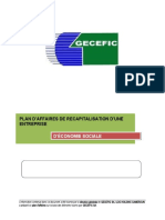 GECEFIC SA_ plan d affaires