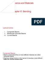 Composite beams, Reinforced Concrete beams, Curved Beams