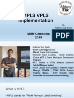 mpls implementation