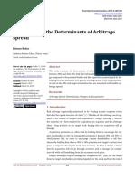 1. An Analysis of the Determinants of Arbitrage Spread.pdf