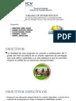 PROGRAMA ASERTIVIDAD - SESIONES