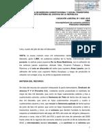 CASACIÓN LABORAL Nº 11828 -2016 LIMA