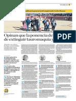 El Comercio (Lima-Peru) Lun 17 feb 2020 (Pag A25) Pagina Toros