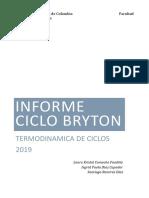 INFORME CICLO BRYTON